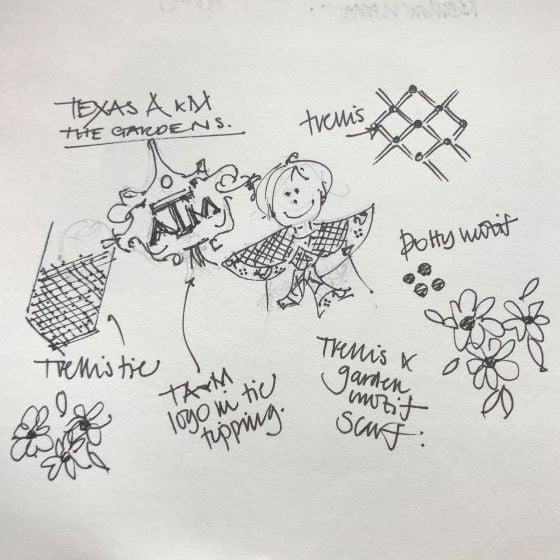 AT Gardens Sketch