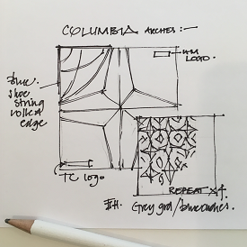 Columbia University - Silk Scarf Design Concept_web