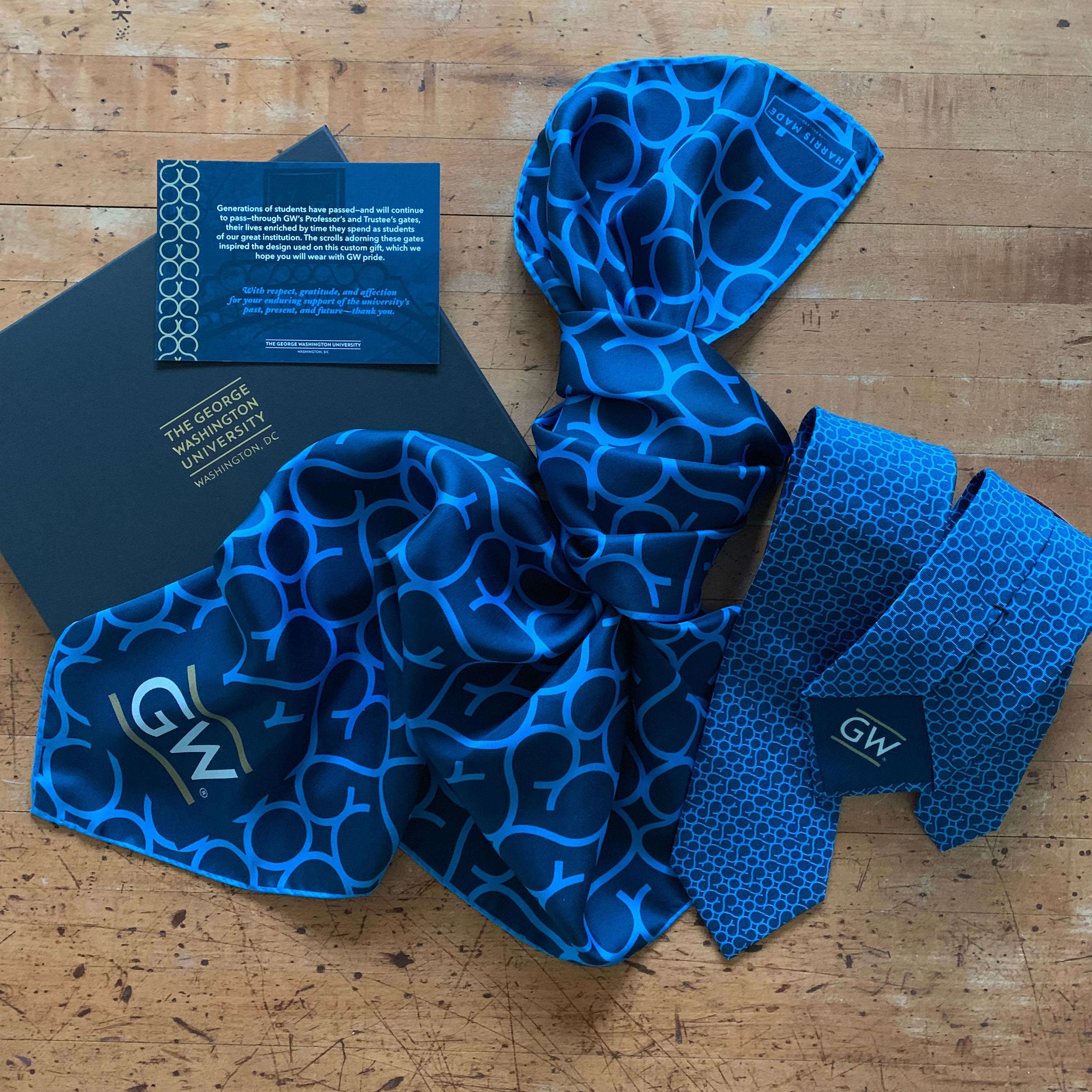 Silk - George Washington University - Blue