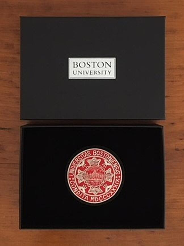 boston university badge