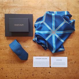 Columbia University Silk Tie and Scarf