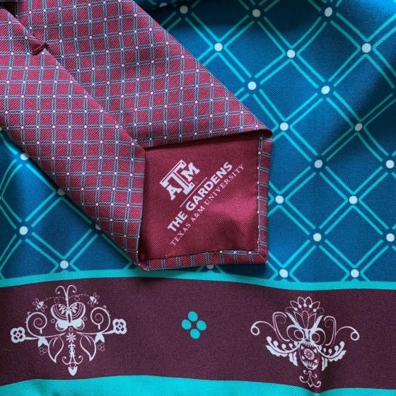 Harris Made for Texas A&M Silk Scarf & Tie (2)-1