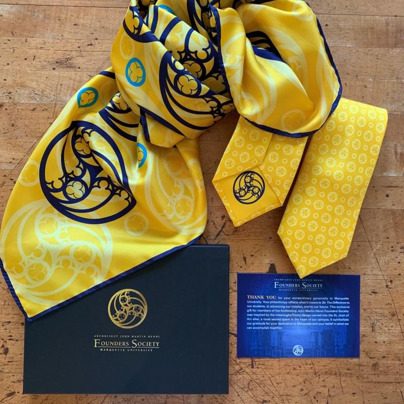 Marquette University Silk Scarf & Tie