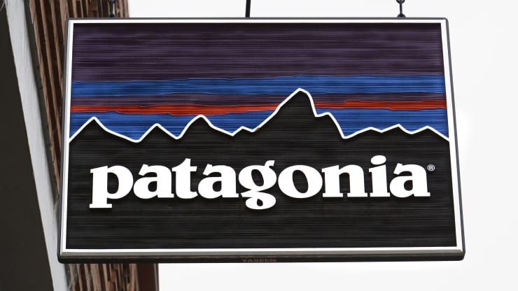 patagonia sign and logo
